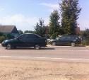 В Одоеве девушка на «десятке» врезалась в стоящий автомобиль