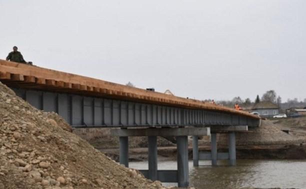 Военные подарят Тульской области к Новому году три моста