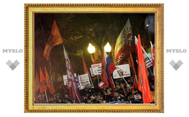 Тульское УМВД: на данный момент нет информации о том, что «митинг несогласных с выборами» санкционирован