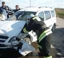 В Чернском районе в лобовом столкновении с «Ладой» погиб водитель «Киа Рио»