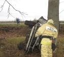 В Узловском районе три человека пострадали в улетевшей в кювет «Тойоте»