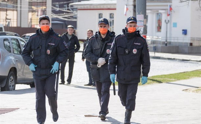 Полиция проверяет граждан, прибывших из Москвы в Тулу