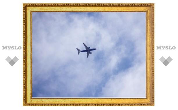 Пьяный пассажир попытался выйти из летящего самолета