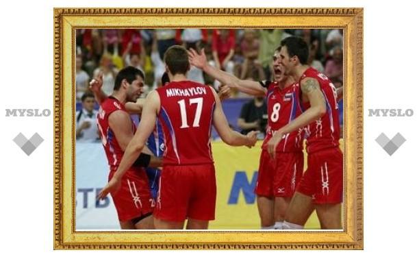 Сборная России вышла в полуфинал Мировой лиги