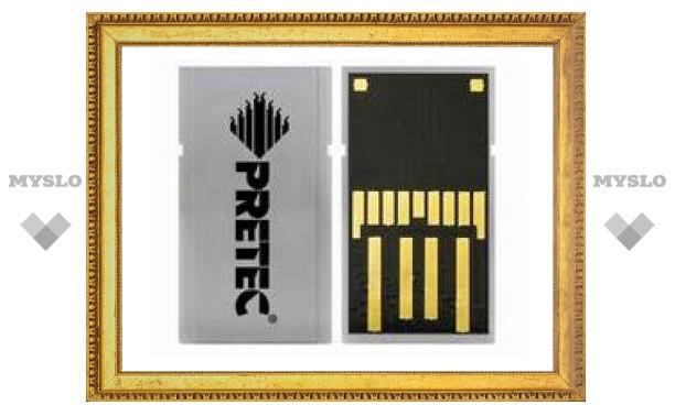 Pretec продемонстрировала первый накопитель формата miCARD