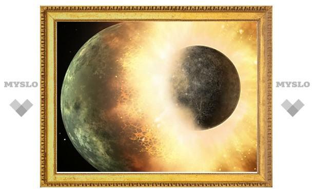 Происхождение Луны запутало ученых