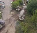 Тульские десантники проводят занятия по боевой подготовке
