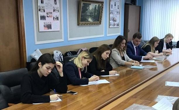 В Тульской области создана молодежная избирательная комиссия