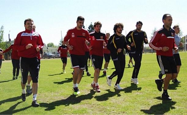 Тульский «Арсенал» готовится к матчу с «Динамо»