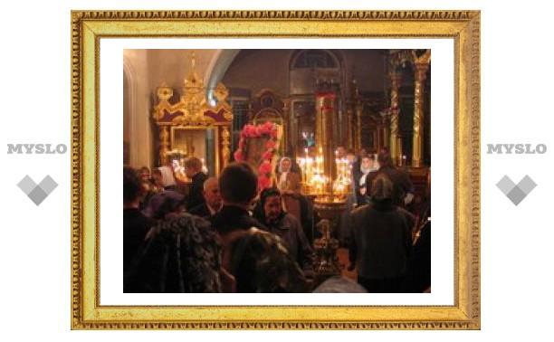 Православные туляки отмечают Вербное воскресенье