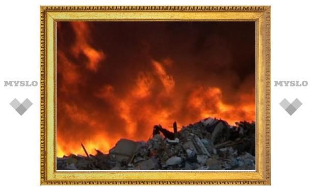В канун Пасхи в Тульской области два человека погибли на пожарах