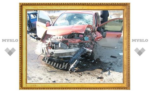 Двойной обгон стал причиной автокатастрофы