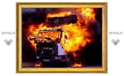 Под Тулой взорвался грузовик