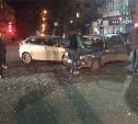 Вечером 10 апреля на проспекте Ленина столкнулись «Чери» и ВАЗ