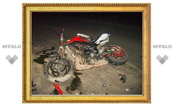 В центре Тулы разбился ночной гонщик
