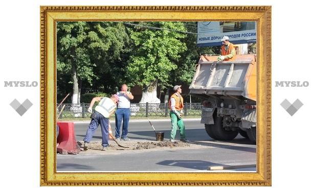 Ремонт проспектов в Туле завершится в сентябре