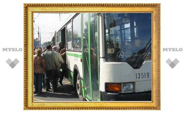 Тульский транспорт меняет маршрут