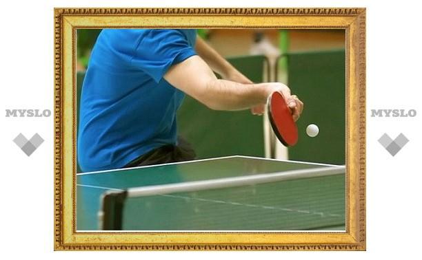 Юные туляки стали вторыми на Кубке России по настольному теннису
