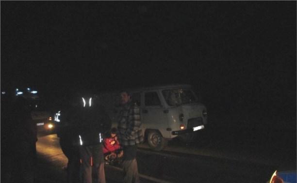 За сутки в Тульской области произошло два ДТП с пешеходами