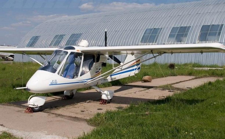 В Тульской области разбился легкомоторный самолет