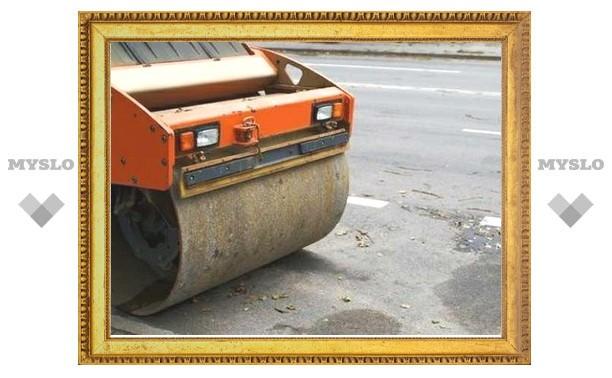 В Туле открыли после ремонта «пьяную» дорогу