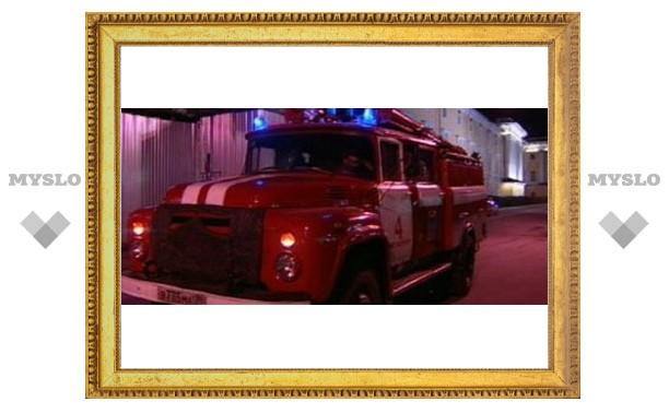 Тулячку спасли пожарные