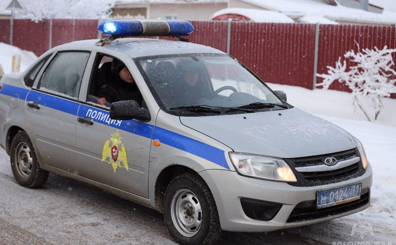 В Туле росгвардейцы задержали объявленную в розыск Toyota Camry