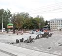 В Туле работы по укладке плитки завершили на 80%, а дороги отремонтировали наполовину