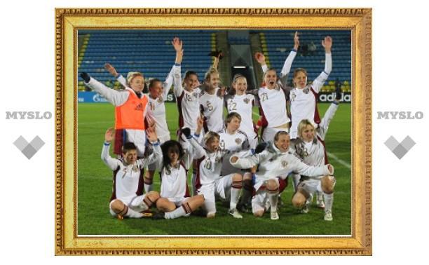 Российские футболистки пробились на чемпионат Европы