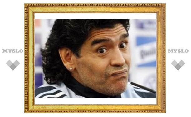 Марадона рассказал о своих страхах перед матчем с Россией