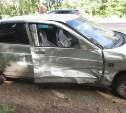 В Узловском районе ВАЗ столкнулся с иномаркой
