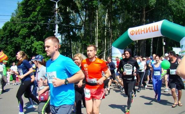 В Туле прошёл «Зелёный марафон  – 2016»