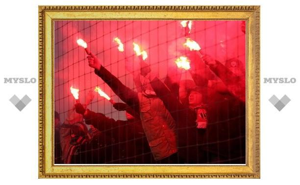 """Тульский """"Арсенал"""" снова оштрафовали за поведение фанатов"""