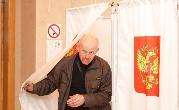 В Заокском кандидатка в депутаты агитировала сама за себя