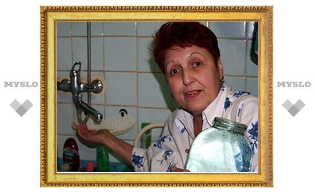В домах Тулы опять нет воды