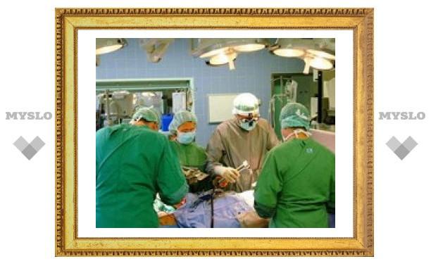 Тульские врачи будут делать операции по-новому