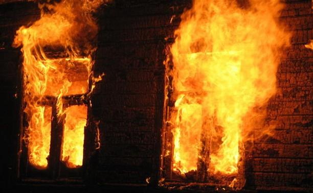 В Тульской области мужчина сгорел в своей квартире