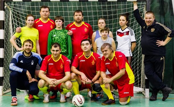 В Туле прошла необычная мини-футбольная игра