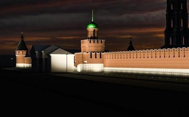 28 марта на час отключат подсветку Тульского кремля