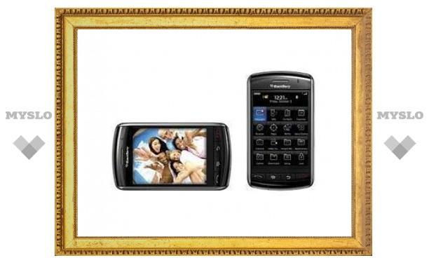 Смартфоны BlackBerry обошли по отгрузкам iPhone