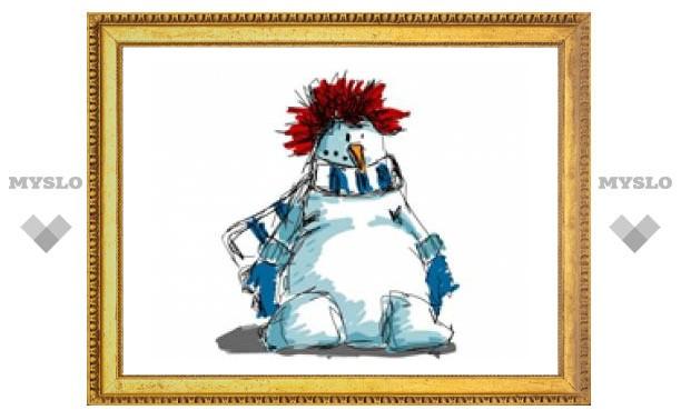 Определен самый крутой снеговик Тулы!