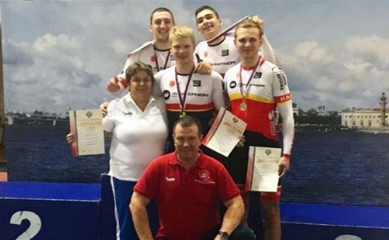 Тульская команда по велоспорту победила на первенстве России