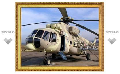 Под Иваново упал вертолет Минобороны