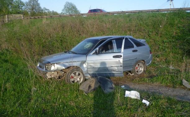 В аварии в Ясногорске пострадала женщина-водитель