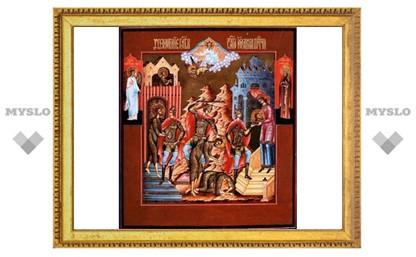 В Омске на музейной иконе начал проявляться лик Христа