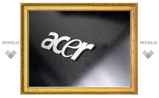 Acer выпустит ноутбук с экраном без рамки