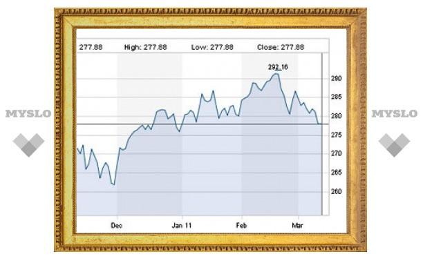 Общеевропейский фондовый индекс вернулся к уровням начала года