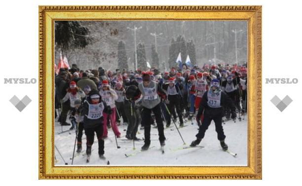 «Лыжня России - 2012» прошла в Туле