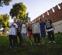 Паркур в кремле: москвичи дали урок тульским трейсерам