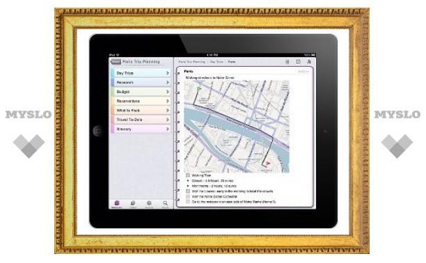Редактор OneNote вышел на iPad